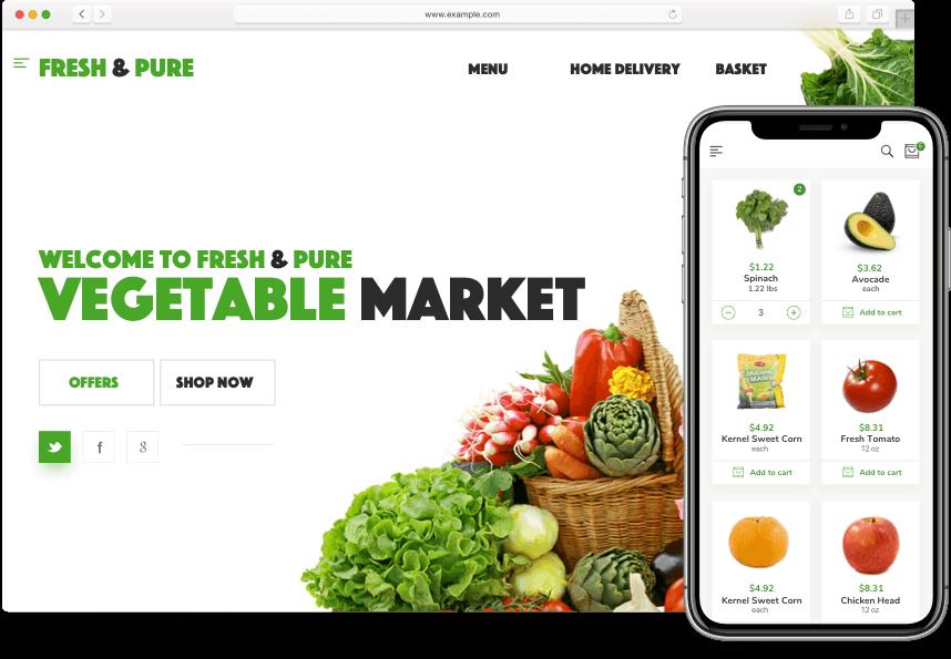 Customer App & Web