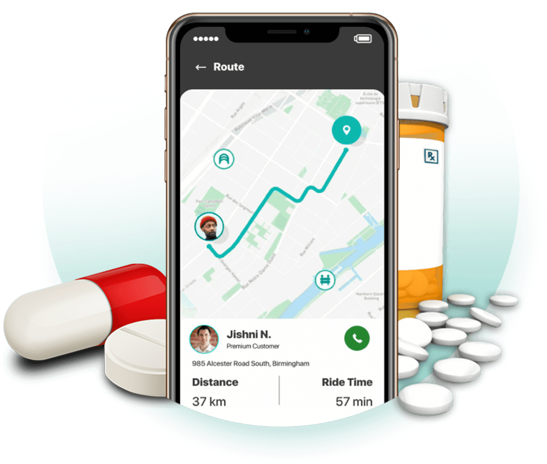 Launch Your Branded Pharmacy Delivery Apps & Website